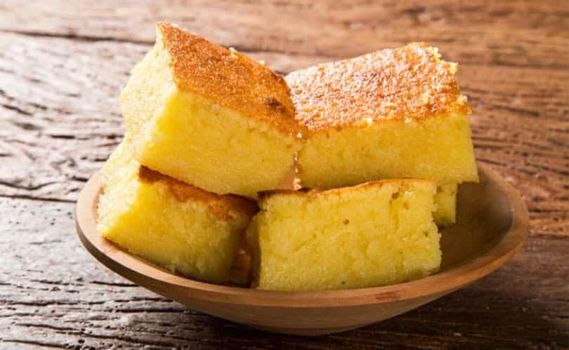 receitas de bolo de milho cremoso